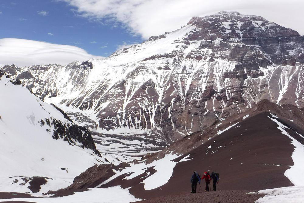 Team acclimatising for Aconcagua