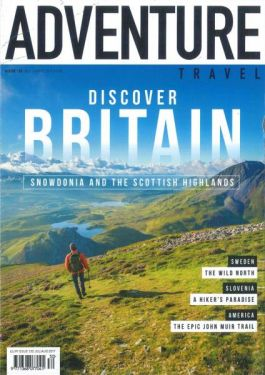 Article about the Mongolian Altai expedition in Adventure Travel magazine