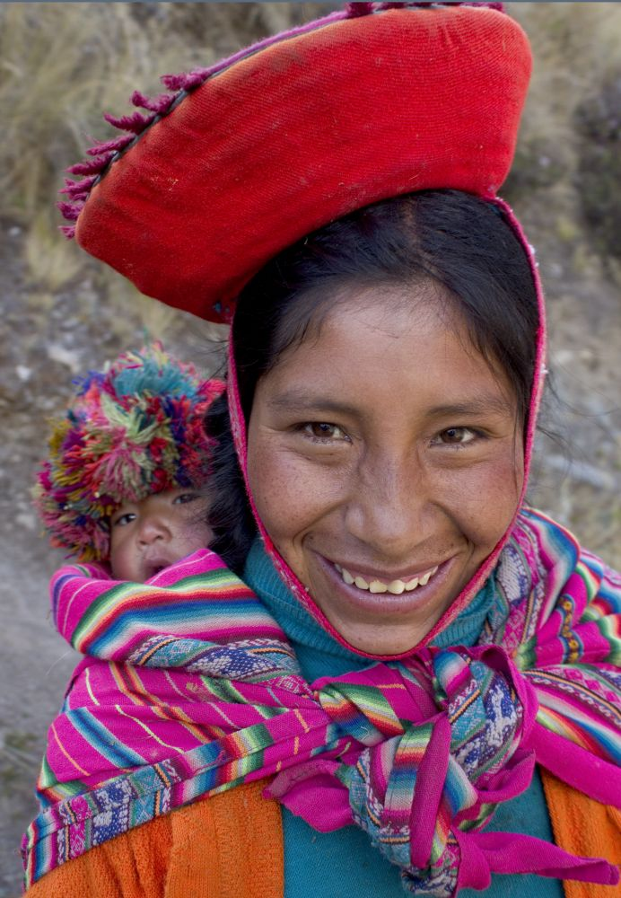 Woman, Sacred Valley