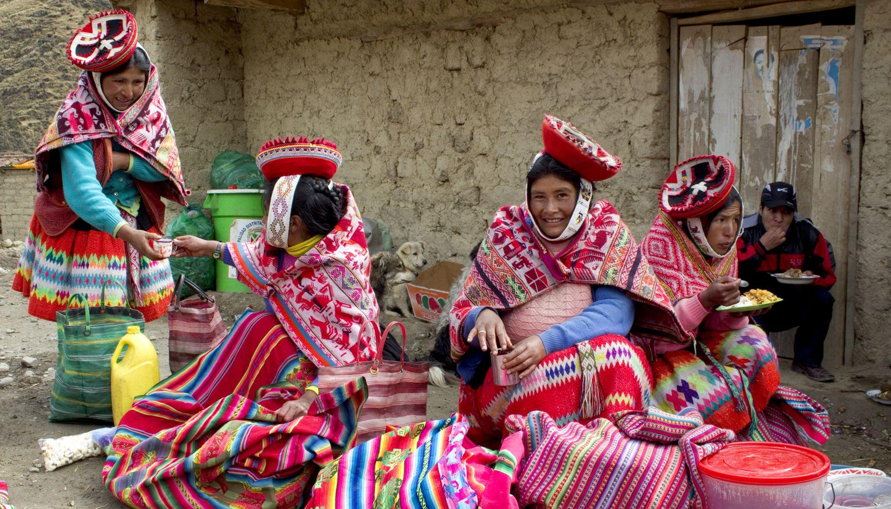 Market day, Sacred Valley, Peru