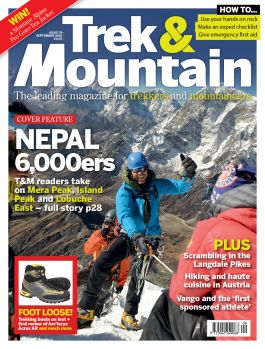 Expedition planning article series in Trek and Mountain Magazine