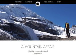 An article about a first ascent expedition in the Far West of Nepal in Sidetracked Magazine