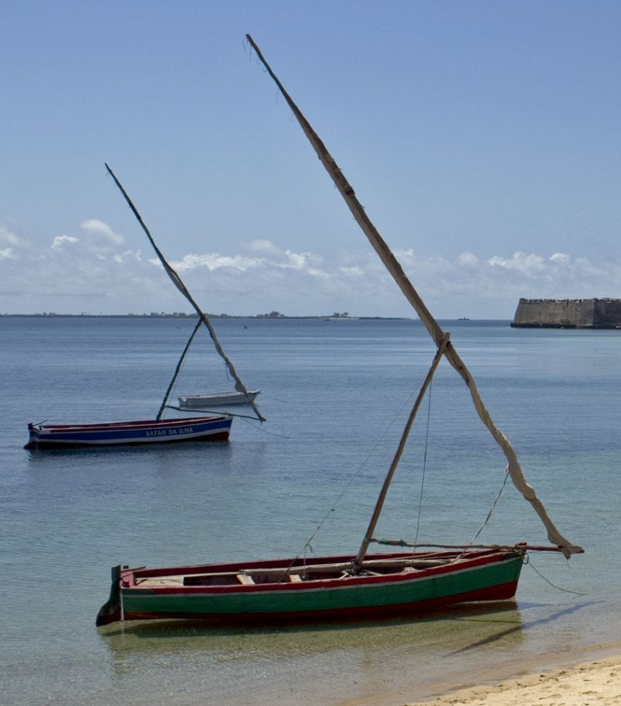 Dhows, Mozambique Island