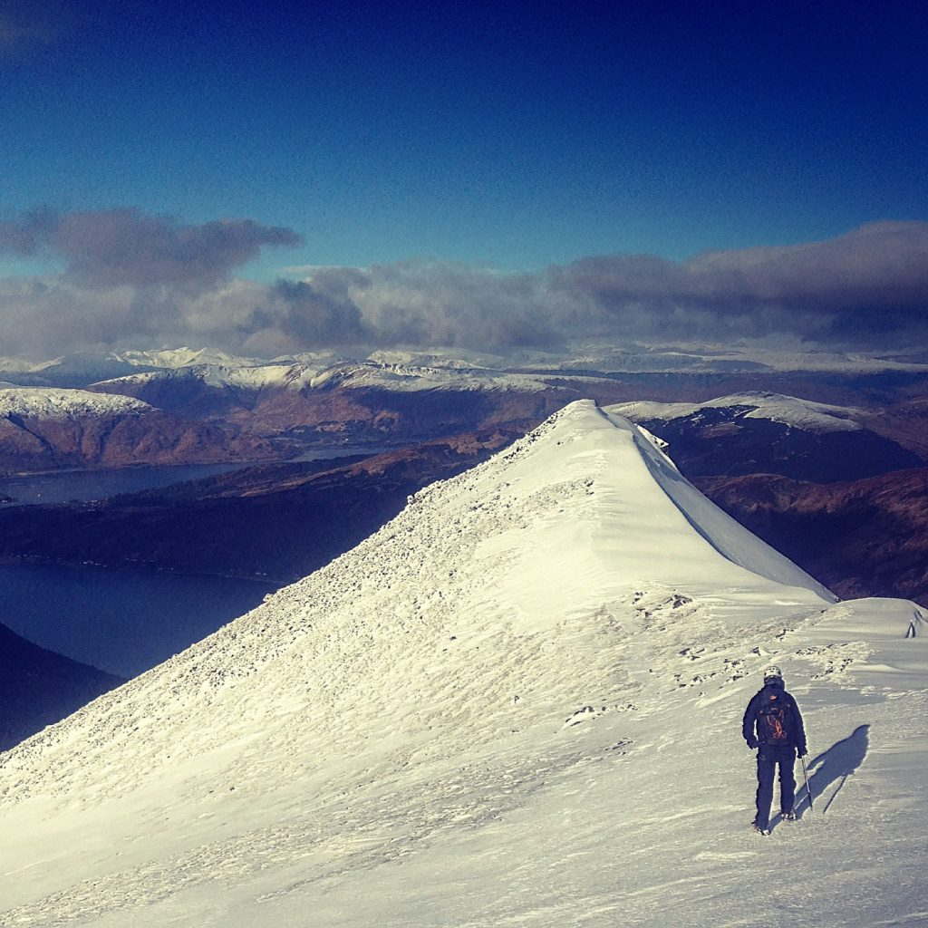 Guided winter Ballachulish Munros