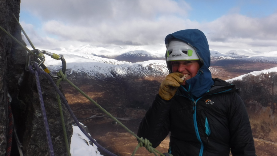 Scottish winter mountaineering food