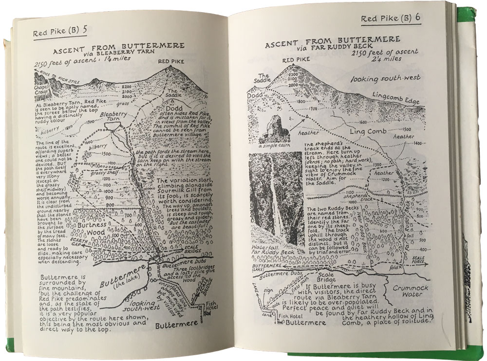 Wainwright Pictorial walking guides