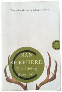 The Living Mountain book