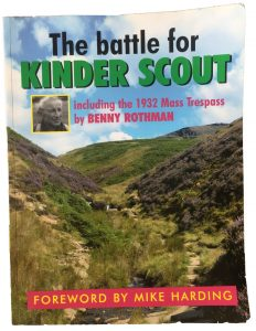 Kinder Scout Mass Trespass book