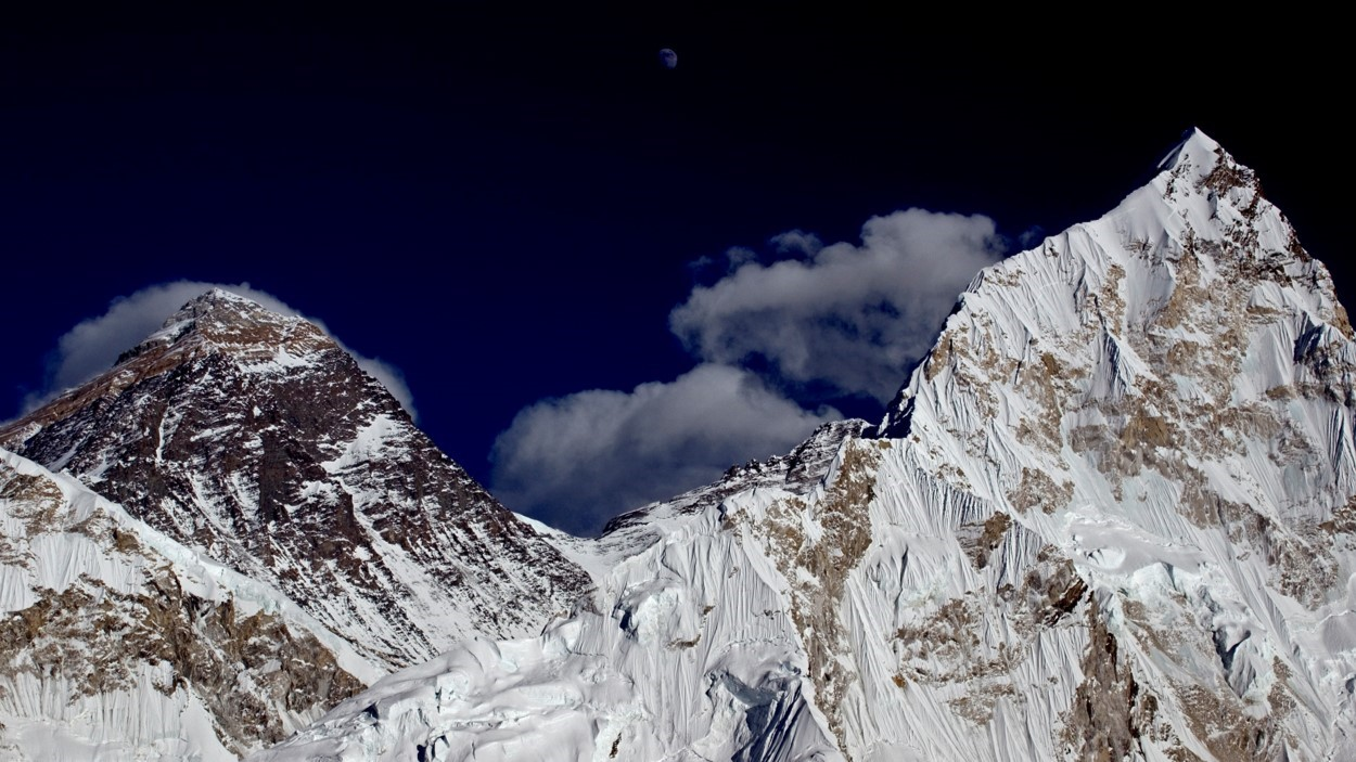 Everest altitude