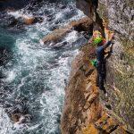sea cliff climbing safety course