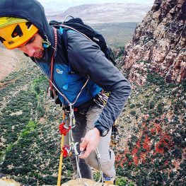 Improvised rescue for climbers
