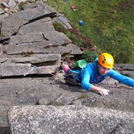Rock Climbing Learn to Lead course